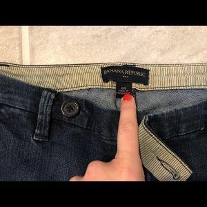 Banana Republic trouser jeans 6R